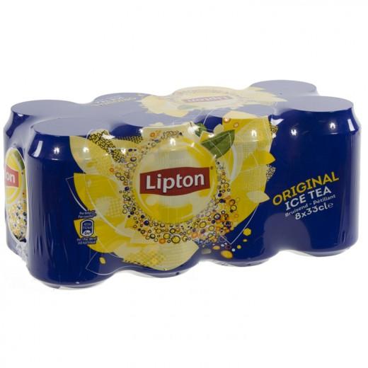 Lipton BLIK  Ice Tea  33 cl  Blik  8 pak