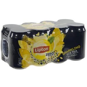 Lipton BLIK  Zero sugar  33 cl  Blik  8 pak