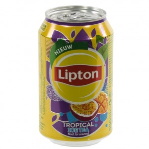 Lipton BLIK  Tropical  33 cl  Blik