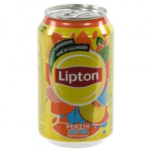 Lipton BLIK  Perzik  33 cl  Blik