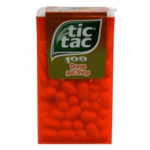 Tic Tac 100  Orange