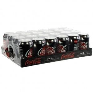 Coca Cola  Zero  33 cl  Blik 24 pak