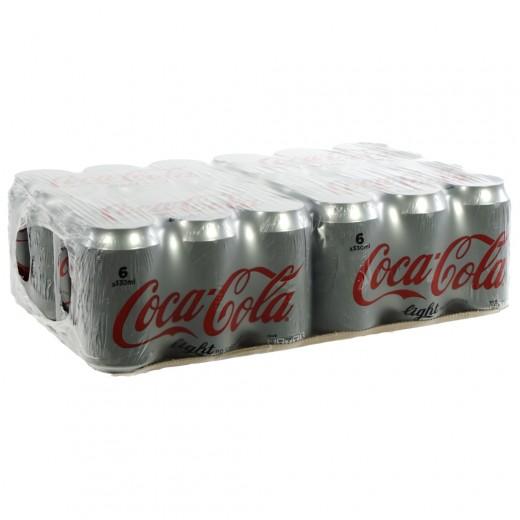 Coca Cola  Light  33 cl  Blik 24 pak