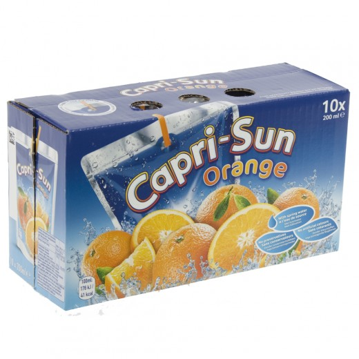 Capri-Sun  Orange  20 cl  10 stuks