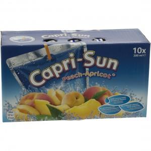 Capri-Sun  Perzik - Abrikoos  20 cl  10 stuks