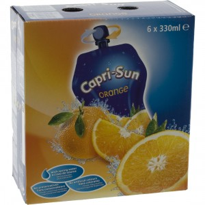 Capri-Sun  Orange  33 cl  Pak  6 st
