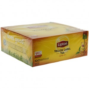 Lipton everey day the yellow label prof.  Doos 100 st