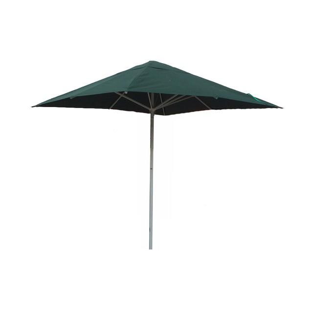 Parasol 4x4m groen met voet
