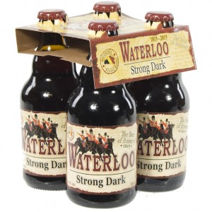 Waterloo  Strong Dark  33 cl  Clip 4 fl