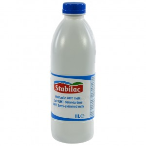 Stabilac Melk PET  Halfvolle  1 liter   Fles