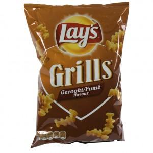 Lays Grills Gerookt   Stuk  100 g