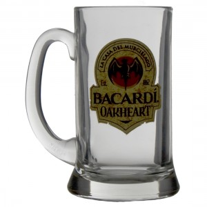 Bacardi Oakheart glas