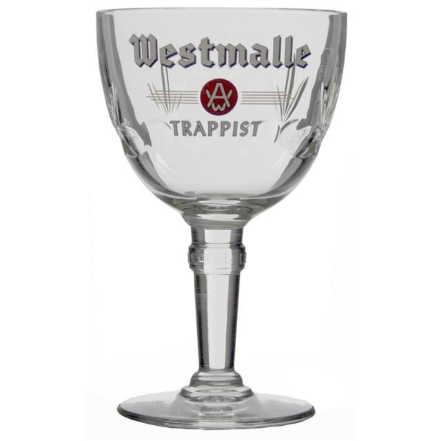Westmalle glazen bak 12 St