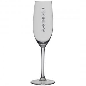 Martini Brut glas