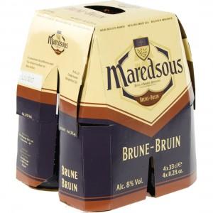 Maredsous  Bruin  33 cl  Clip 4 fl