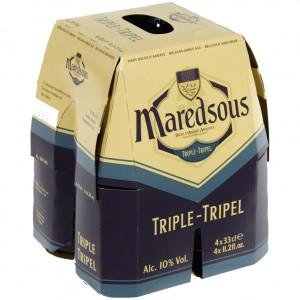 Maredsous  Tripel  33 cl  Clip 4 fl