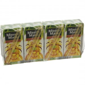 Minute Maid BRIK  Multivitamines  20 cl  Pak  4 st