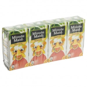 Minute Maid BRIK  Tropical  20 cl  Pak  4 st