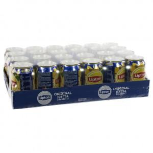 Lipton BLIK  Ice Tea  33 cl  Blik 24 pak