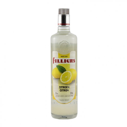 Filliers Fruit Jenever 20%  Citroen  70 cl