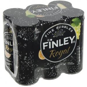 Finley BLIK  Royal  25 cl  Blik  6 pak