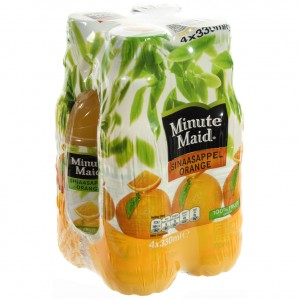 Minute Maid PET  Orange  33 cl  Pak  4 st