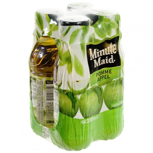 Minute Maid PET  Appel  33 cl  Pak  4 st