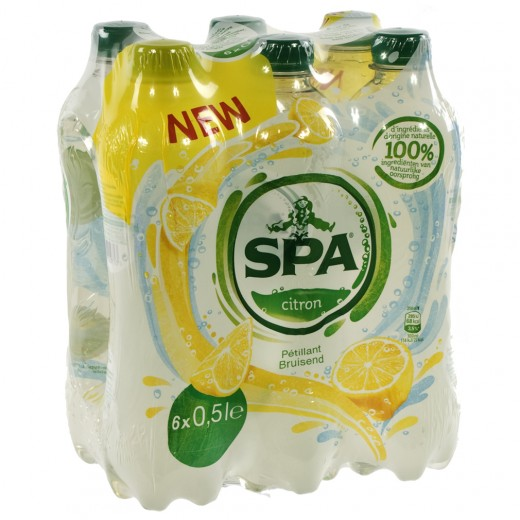 Spa limonade PET  Citroen  50 cl  Pak  6 st