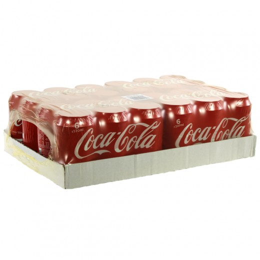 Coca Cola  Regular  33 cl  Blik 24 pak