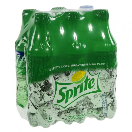 Sprite PET  Regular  50 cl  Pak  6 st