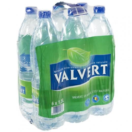 Valvert  1,5 liter  Pak  6 st