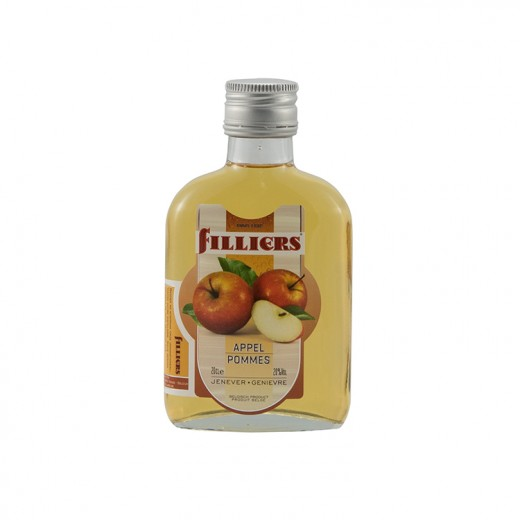 Filliers Fruit Jenever 20%  Appel  20 cl