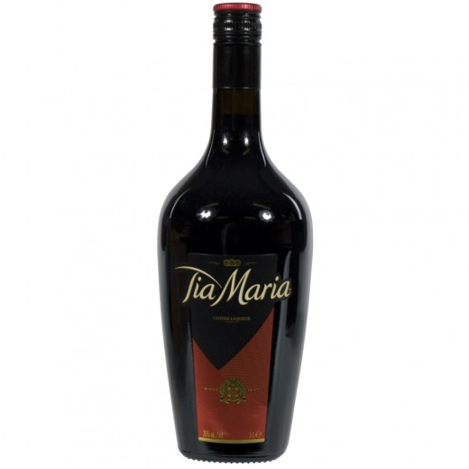 Tia Maria Coffee Liqueur 20%  1 liter   Fles