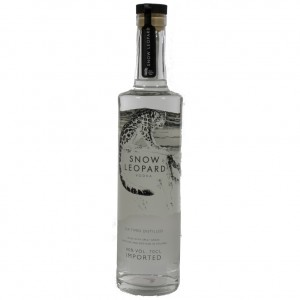 Snow Leopard Vodka 40%  70 cl   Fles