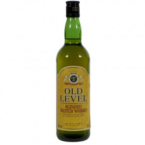 Old Level Scotch Whiskey 3Years  70 cl   Fles