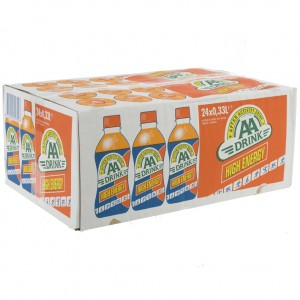 AA energy drank  Orange High Energy  33 cl  Doos 24 st