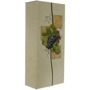 Verpakking doos Druiven  2 Flessen