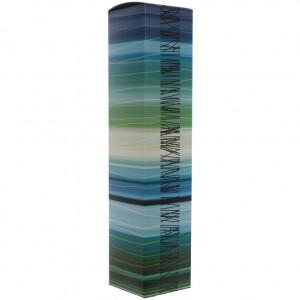 Verpakking sturktura vita trendline blauw en groen   Fles