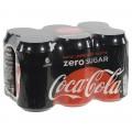 Coca Cola  Zero  33 cl  Blik  6 pak