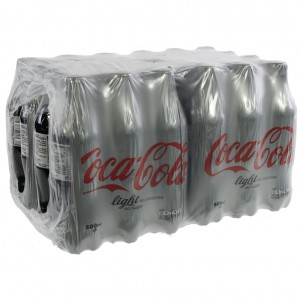Coca Cola PET  Light  25 cl  Pak 24 st