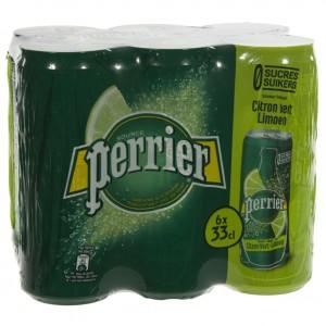 Perrier Limonade BLIK  Limoen  33 cl  Blik  6 pak