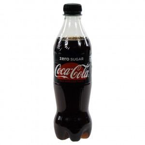 Coca Cola PET  Zero  50 cl   Fles