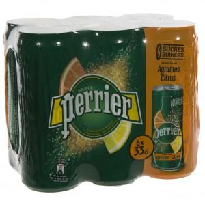 Perrier Limonade BLIK  Agrum  33 cl  Blik  6 pak