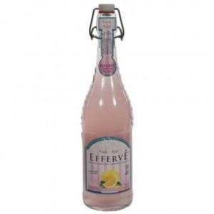 Effervé Limonade  Roze Citroen  75 cl   Fles