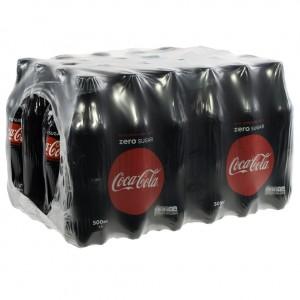 Coca Cola PET  Zero  50 cl  Pak 24 st