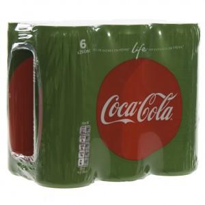 Coca Cola  Life  25 cl  Blik  6 pak