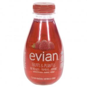 Evian Fruits & plants Pet  Framboos  37 cl   Fles