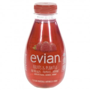 Evian Fruits & plants Pet  Framboos  37 cl