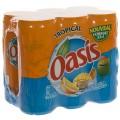Oasis BLIK  Tropical  33 cl  Blik  6 pak