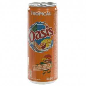 Oasis BLIK  Tropical  33 cl  Blik